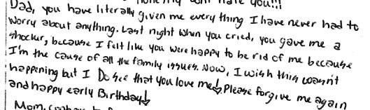 Natalie letter 2